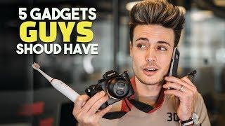 5 Tech/Gadgets EVERY GUY Should Own | BluMaan 2018