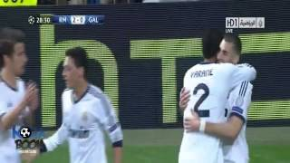 Real Madrid 3-0 GALATASARAY - 03.04.2013 (Fuckin' Arabic Announcer is very happy!!)