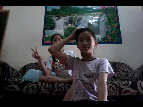 yoga challenge with my cousin....