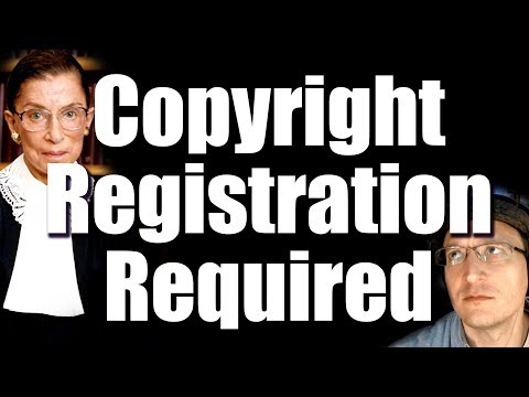 Supreme Court: Copyright Registration Required before Suit