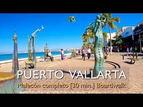 Paseo Completo Malecón Puerto Vallarta 30 min 04/12/2019 Complete Puerto Vallarta Malecon Boardwalk