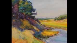 Margaret Jordan  Patterson paintings Scarlatti Sonate en mi mineur K 466 Andante moderato