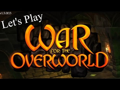 Let's Play War for the Overworld- Dungeon Management  (Gameplay/Commentary) |