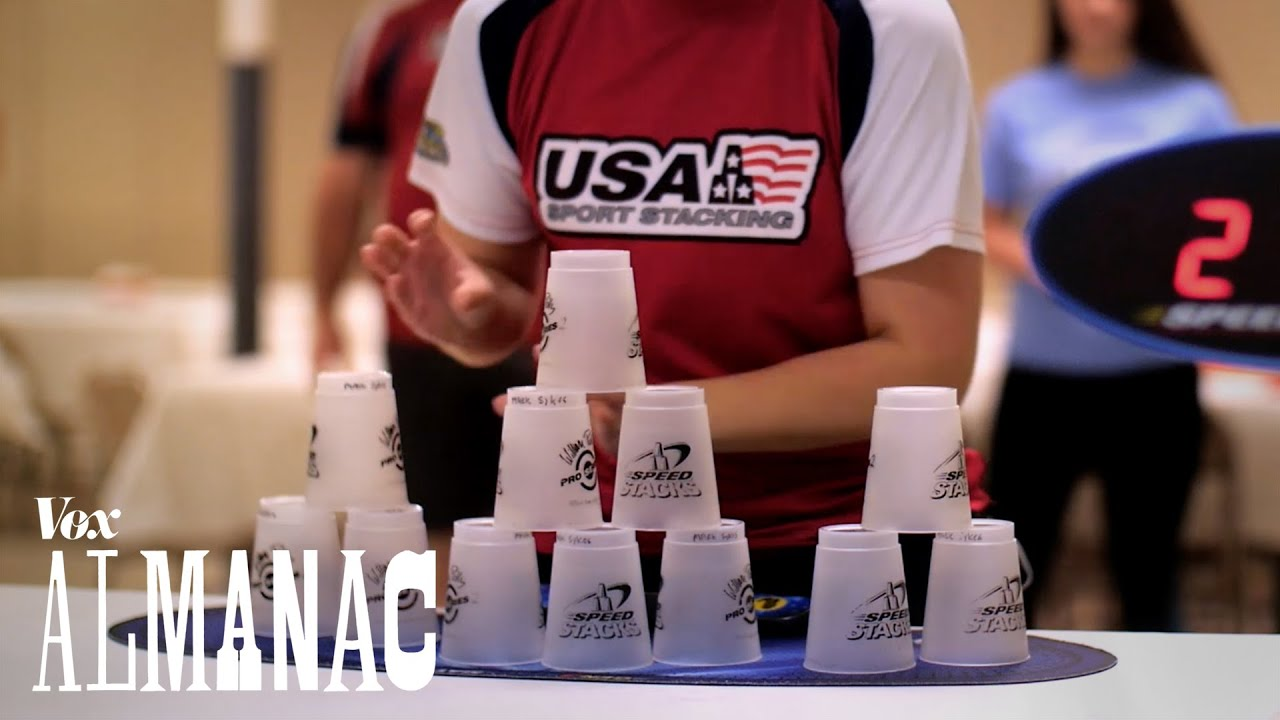 the incredible sport of cup stacking explained youtube