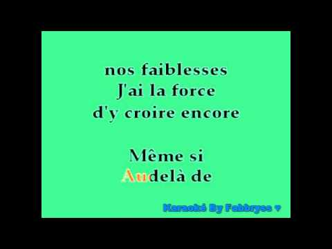 Même Si (Version Française) - Grégory Lemarchal - Karaoké FKA