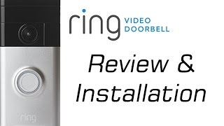 Ring Video Door Bell Install