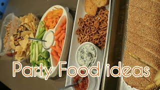 QUICK and EASY Party FOOD ideas by Large family Momma
