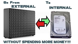 [HOW-TO] Unboxing and disassemble a SEAGATE expansion 5TB  external drive use internally