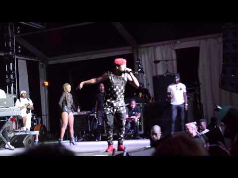 "Machel Montano ""Like A Boss"" Live in NYC On Da Soca Tip"