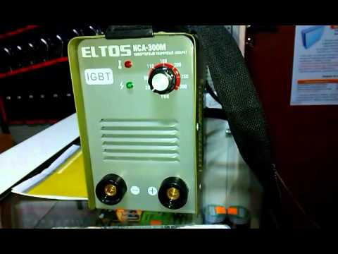 Инверторный сварочный аппарат Eltos ИСА-300М. Электроинструмент б .