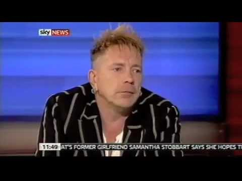 John Lydon Sky News: PiL reunion, Sex Pistols, labels, Israel, politics