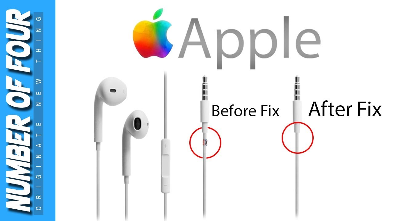 how to fix apple earphones earbuds that only work on one side or rh youtube com apple earphone wiring diagram apple earphone wiring diagram