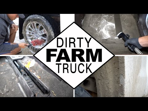 Dirty Truck Detail | Deep Cleaning a Dirty Work Truck!