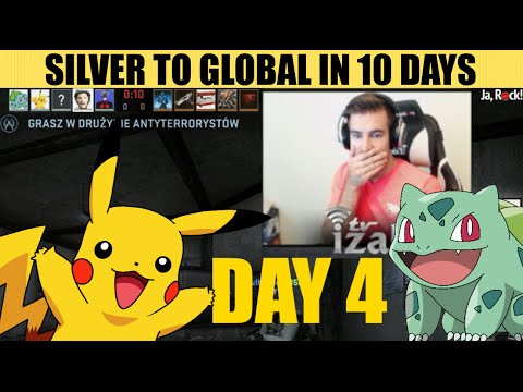 IZAK - SILVER TO GLOBAL IN 10 DAYS (DAY 4)