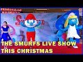 SMURFS LIVE Show. A fun Musical and Dance Smurfs with Papa Smurf and Smurfette