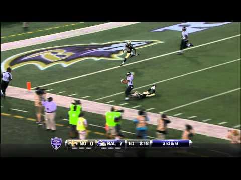 Michael Campanaro 45-yard touchdown from Matt Schaub - 2015 NFL Preseason Week 1 highlight