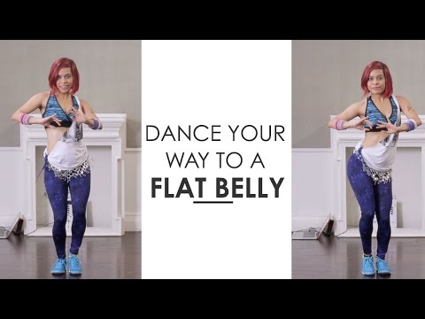 Zumba Inspired Belly Dance To Get A Flat Stomach...