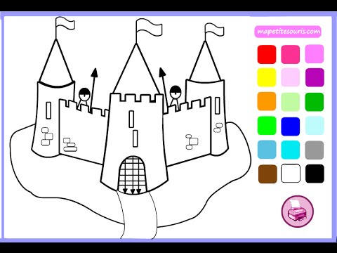 Kingdom Coloring Pages For Kids - Kingdom Coloring Pages