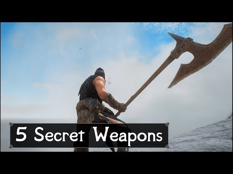 Skyrim: Top 5 Secret and Unique Weapons You May Have Missed in The Elder Scrolls 5: Skyrim thumbnail