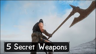 Skyrim: Top 5 Secret and Unique Weapons You May Have Missed in The Elder Scrolls 5: Skyrim