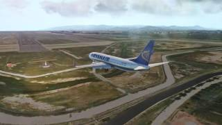 [X-Plane 11] Landing Barcelona - xEnviro + Reshade + EddieSkyPack by  GameAddict