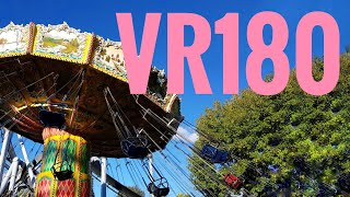 Glide Through The Air On The Wave Swinger Swing Ride In VR180 Lucidcam