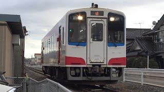 【4K】三陸鉄道リアス線 普通列車36-700形気動車 36-711