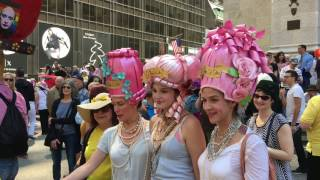 Easter Parade and Easter Bonnet Festival in NYC 4.16.2017