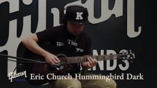 Gibson Acoustic Eric Church Hummingbird Dark【週刊ギブソンVol.143/試奏:エバラ健太】