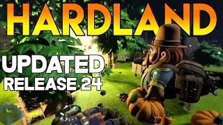 UPDATED! Hardland Gameplay on Steam 2017 - Open World Action RPG - Missions and Quests with Litanah