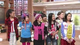 黄色の上着 Inaba Manaka カントリー・ガールズ 北海道ローカル番組 曲:...