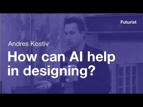 How can artificial intelligence (AI) help in design YDT by Andres Kostiv
