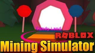CANDY LAND 😍🍧 | ROBLOX: Mining Simulator #9