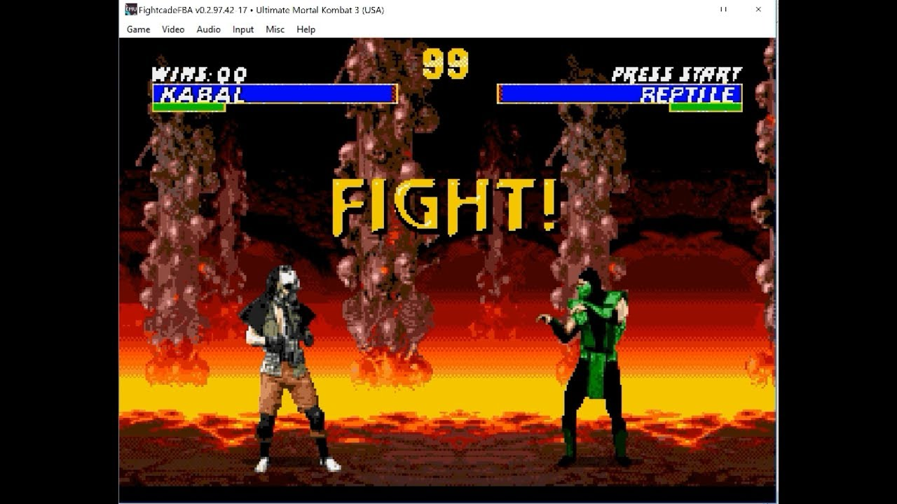 Ultimate Mortal Kombat 3 FightCade2 - ROM USA