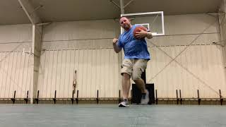 A Dad's Version of Dude Perfect Basketball Trick Shots