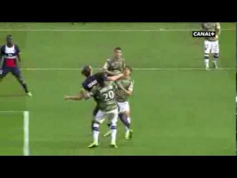 Amazing Goal Of Zlatan Ibrahimovic / But Incroyable Zlatan PSG vs Bastia