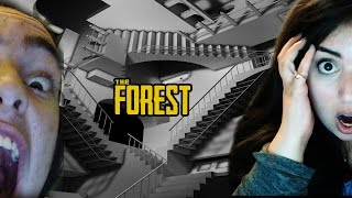 NEVERENDING STAIRS! The Forest Multiplayer