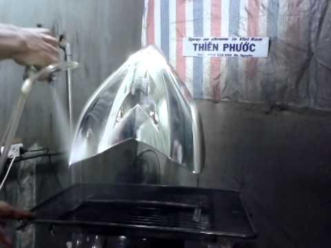 Hướng dẩn xi phun nano chrome - spray on chrome - xi mạ xe máy