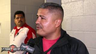 Robert Garcia on if Victor Ortiz quit