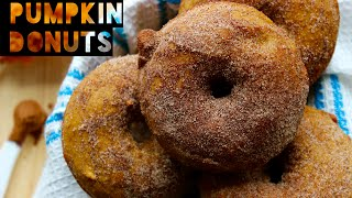 Healthy Pumpkin Spice Donut Recipe | How To Make Low Fat Pumpkin Spice Donuts