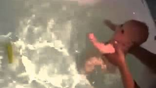 Инструкторские Уроки плавания с новорожденным