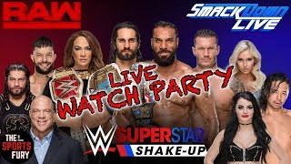 Monday Night Raw Watch Party   Roster Shake-Up