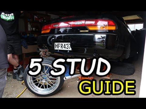 180SX/240SX/Silvia S13 | 5 STUD CONVERSION