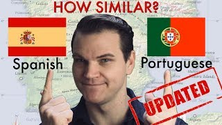 How Similar are Spanish and Portuguese? (UPDATED!!)