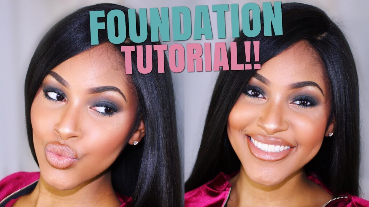 Foundation routine for black women how to highlight contour dark foundation routine for black women how to highlight contour dark skin baditri Images