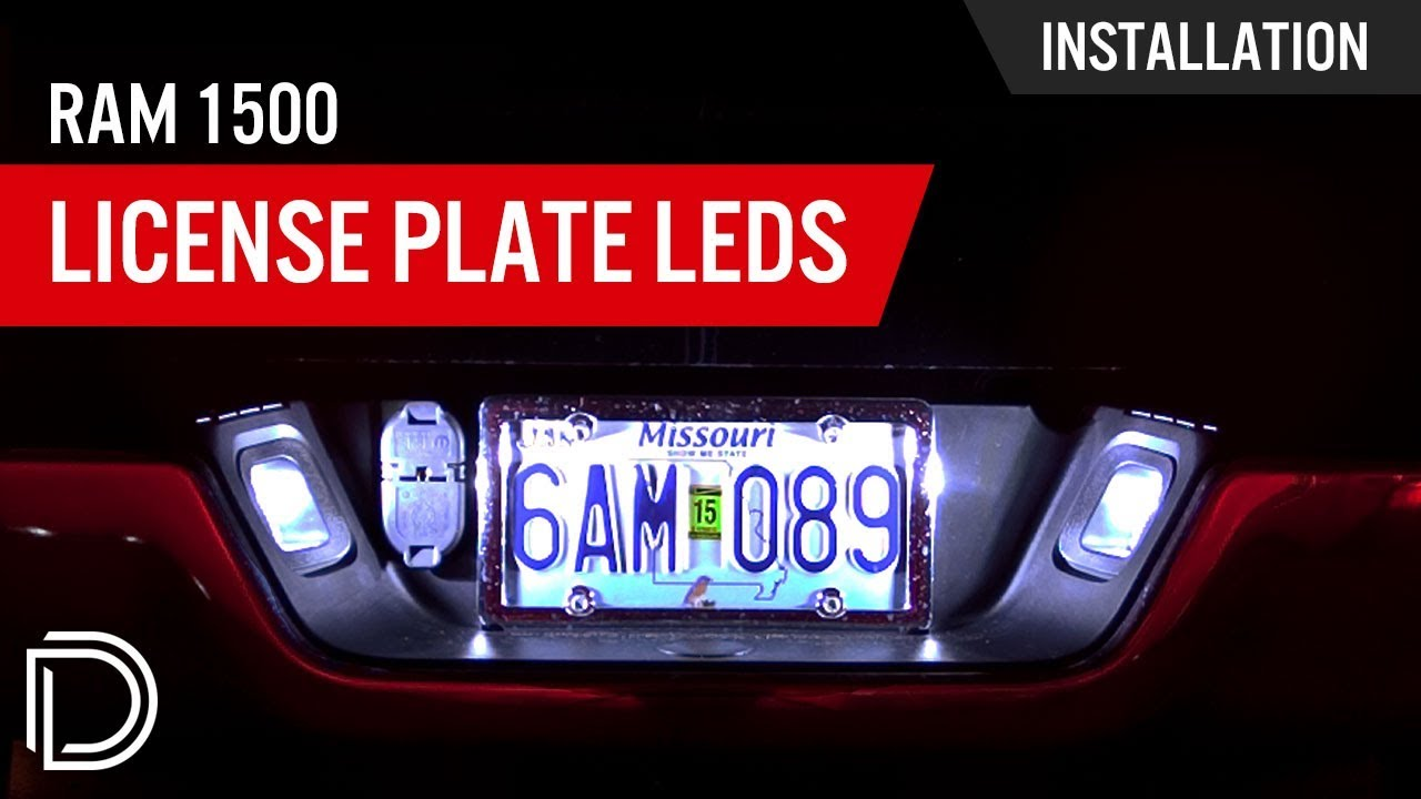 How To Install Ram 1500 License Plate Leds