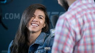 UFC 225's Claudia Gadelha Happy Joanna Jedrzejczyk Isn't Champion Anymore: 'She's Not A Good Person'