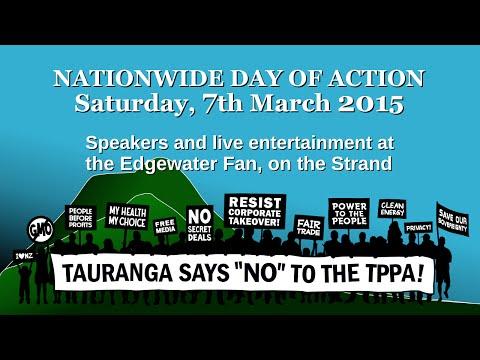 2015-03-07 Tauranga Says NO to the TPPA!