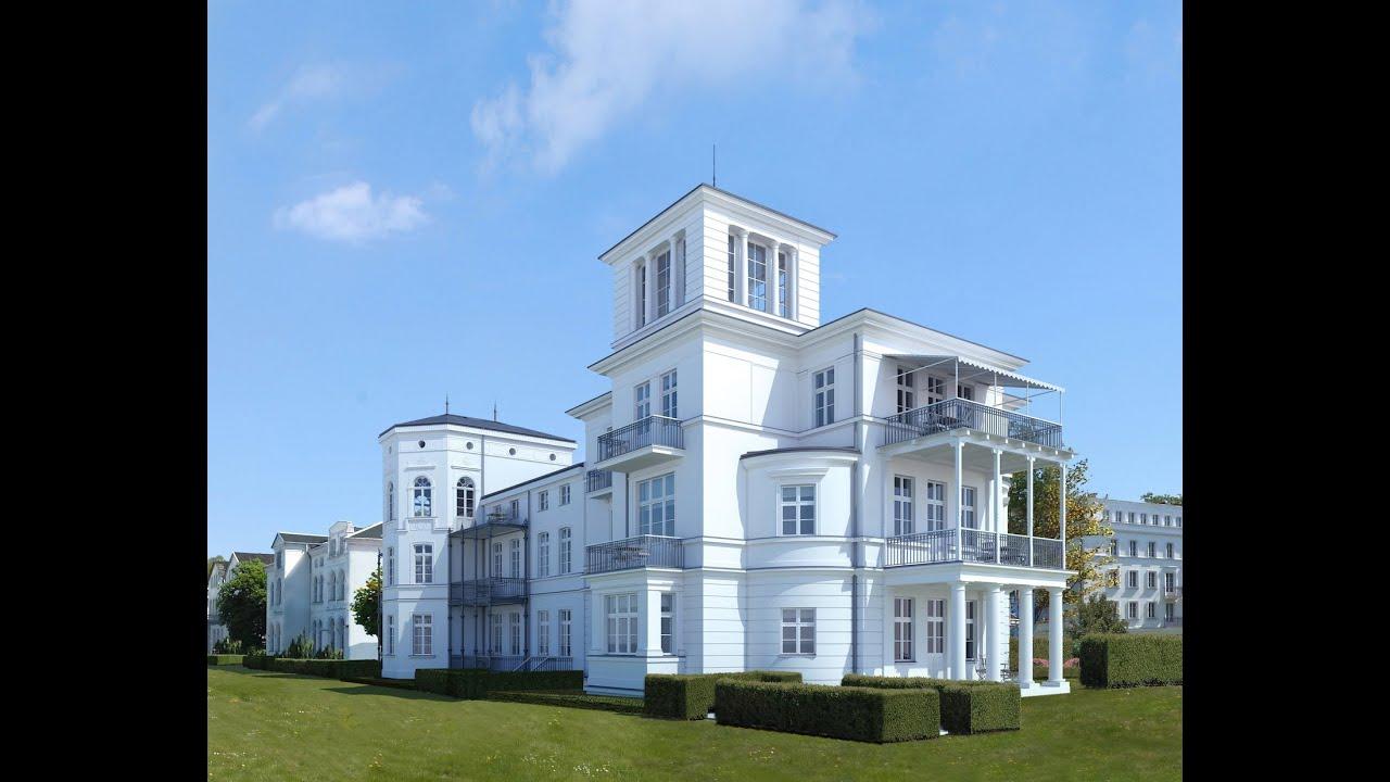 Modernste villa der welt  Wiederaufbau der Villa Perle in Heiligendamm - Teil 1 von 3 - YouTube