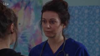 Amy Starts To Doubt Her Mother's Baby Story - Emmerdale